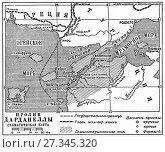 Купить «Пролив Дарданеллы. Карта», иллюстрация № 27345320 (c) Макаров Алексей / Фотобанк Лори