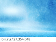 Купить «Зимний фон», фото № 27354048, снято 1 ноября 2017 г. (c) Икан Леонид / Фотобанк Лори