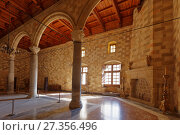 Купить «Interior of the Palace of the Grand Master of the Knights of Rhodes», фото № 27356496, снято 9 октября 2017 г. (c) Stockphoto / Фотобанк Лори