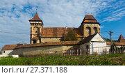Купить «Valea Viilor fortified church, Romania», фото № 27371188, снято 17 сентября 2017 г. (c) Яков Филимонов / Фотобанк Лори