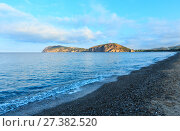 Купить «Tyrrhenian sea landscape, Campania, Italy», фото № 27382520, снято 21 июня 2017 г. (c) Юрий Брыкайло / Фотобанк Лори