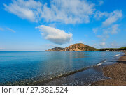Купить «Tyrrhenian sea landscape, Campania, Italy», фото № 27382524, снято 21 июня 2017 г. (c) Юрий Брыкайло / Фотобанк Лори