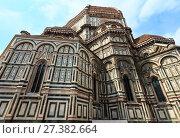Купить «Florence Cathedral, Tuscany, Italy», фото № 27382664, снято 23 июня 2017 г. (c) Юрий Брыкайло / Фотобанк Лори