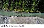 Купить «Man fishing in river on a sunny day 4K 4k», видеоролик № 27383560, снято 10 июля 2020 г. (c) Wavebreak Media / Фотобанк Лори