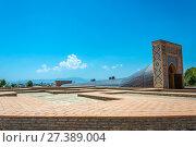 Купить «The Observatory Of Ulugbek, Samarkand, Uzbekistan», фото № 27389004, снято 19 августа 2016 г. (c) Валерий Смирнов / Фотобанк Лори