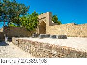 "Купить «Necropolis Chor-Bakr, or ""city of the dead"" in Bukhara», фото № 27389108, снято 20 августа 2016 г. (c) Валерий Смирнов / Фотобанк Лори"