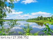 Купить «Летний пейзаж», фото № 27398752, снято 23 июля 2017 г. (c) Икан Леонид / Фотобанк Лори