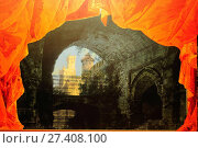 Купить «Scenery, Opera, Museo Giuseppe Verdi, 2012, Busseto, Parma, Italy.», фото № 27408100, снято 4 декабря 2012 г. (c) age Fotostock / Фотобанк Лори
