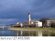 Купить «Евангелическая приходская церковь Христа. Зальцбург, Австрия», фото № 27410500, снято 16 января 2018 г. (c) Светлана Колобова / Фотобанк Лори