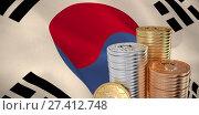 Купить «Composite image of bitcoin», фото № 27412748, снято 29 февраля 2020 г. (c) Wavebreak Media / Фотобанк Лори