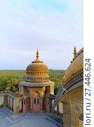 Купить «Sun-lit dome, Vijay Vilas Palace, Bhuj, Gujarat.», фото № 27446624, снято 1 февраля 2016 г. (c) age Fotostock / Фотобанк Лори