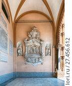 Купить «Interior church of the Roman Catholic Archdiocese of Palermo», фото № 27456612, снято 24 января 2018 г. (c) age Fotostock / Фотобанк Лори