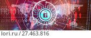 Купить «Composite image of information security logo», фото № 27463816, снято 18 августа 2019 г. (c) Wavebreak Media / Фотобанк Лори