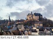 Купить «view of Marburgl, Germany», фото № 27466688, снято 12 декабря 2015 г. (c) Boris Breytman / Фотобанк Лори