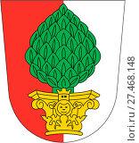 Купить «Герб города Аугсбург. Германия», иллюстрация № 27468148 (c) Владимир Макеев / Фотобанк Лори