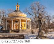 Купить «Греко-католический храм св. Николая на Аскольдовой могиле», фото № 27469168, снято 26 января 2018 г. (c) Олеся Сарычева / Фотобанк Лори