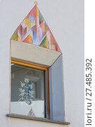 Купить «Graffiti im Dorf La Punt», фото № 27485392, снято 19 января 2020 г. (c) age Fotostock / Фотобанк Лори