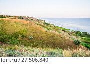 Купить «Берег Таганрогского залива в Ростовской области», фото № 27506840, снято 16 июля 2015 г. (c) Алёшина Оксана / Фотобанк Лори