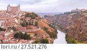 Купить «Panorama of Toledo, Castilla La Mancha, Spain», фото № 27521276, снято 28 марта 2020 г. (c) Коваленкова Ольга / Фотобанк Лори