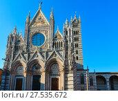 Купить «Siena Cathedral, Tuscany, Italy», фото № 27535672, снято 23 июня 2017 г. (c) Юрий Брыкайло / Фотобанк Лори