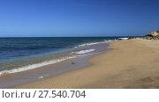 Купить «Набегающие волны тропического моря», видеоролик № 27540704, снято 26 сентября 2015 г. (c) Евгений Ткачёв / Фотобанк Лори