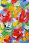 Купить «Абстрактный рисунок, гуашь», фото № 27573436, снято 23 января 2018 г. (c) Виктор Топорков / Фотобанк Лори
