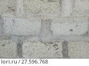 Купить «Background from slag stones», фото № 27596768, снято 21 марта 2019 г. (c) PantherMedia / Фотобанк Лори