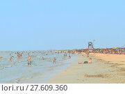 Купить «The beach at the recreation center», фото № 27609360, снято 25 июня 2019 г. (c) PantherMedia / Фотобанк Лори