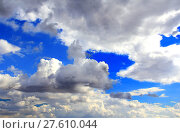 Купить «Image with sea and cloudiness sky», фото № 27610044, снято 16 января 2019 г. (c) PantherMedia / Фотобанк Лори