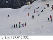 Купить «winter snow alps ski skiing», фото № 27613932, снято 23 мая 2019 г. (c) PantherMedia / Фотобанк Лори