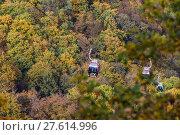 Купить «Bodetal im Herbst Harz», фото № 27614996, снято 23 июля 2019 г. (c) PantherMedia / Фотобанк Лори