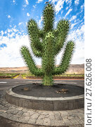 Купить «tropical cactus garden in guatiza village,lanzarote,canary islands,spain», фото № 27626008, снято 19 октября 2018 г. (c) PantherMedia / Фотобанк Лори