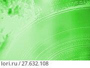 Купить «soap foam green stains on the glass», фото № 27632108, снято 26 мая 2018 г. (c) PantherMedia / Фотобанк Лори