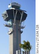 Купить «tower airport lax belvedere air», фото № 27634128, снято 22 августа 2018 г. (c) PantherMedia / Фотобанк Лори