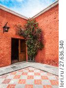 Купить «Mansion del Fundador, a renovated centuries old Spanish Colonial mansion, Arequipa, Peru», фото № 27636340, снято 23 февраля 2018 г. (c) PantherMedia / Фотобанк Лори