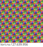 Купить «Abstract seamless pattern with cubes, can be used as background.», иллюстрация № 27639956 (c) PantherMedia / Фотобанк Лори
