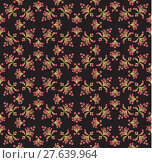 Купить «Floral seamless pattern, can be used as background.», иллюстрация № 27639964 (c) PantherMedia / Фотобанк Лори