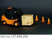 Купить «Forklift box», фото № 27640256, снято 18 февраля 2020 г. (c) PantherMedia / Фотобанк Лори
