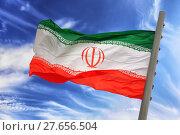 Купить «Flag of Iran», фото № 27656504, снято 17 июня 2019 г. (c) PantherMedia / Фотобанк Лори