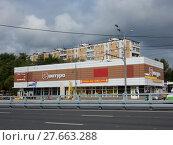 Купить «Магазин «Шатура-мебель». Щёлковское шоссе, 91а, строение 1. Район Гольяново. Город Москва», эксклюзивное фото № 27663288, снято 8 сентября 2017 г. (c) lana1501 / Фотобанк Лори