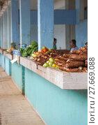 Купить «Shopping Marked with Vegetable and fruit», фото № 27669088, снято 26 марта 2019 г. (c) PantherMedia / Фотобанк Лори