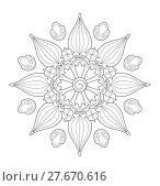 Купить «mandala illustration», иллюстрация № 27670616 (c) PantherMedia / Фотобанк Лори