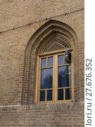 Купить «Recessed Window on Historical Building», фото № 27676352, снято 17 июня 2019 г. (c) PantherMedia / Фотобанк Лори