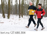 Купить «Running In The Snow», фото № 27680304, снято 25 июня 2019 г. (c) PantherMedia / Фотобанк Лори