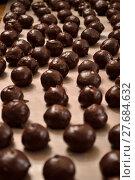 Купить «Chocolate Bon-bon candy», фото № 27684632, снято 23 мая 2018 г. (c) PantherMedia / Фотобанк Лори