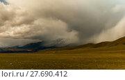 Купить «Altai mountains. Beautiful highland landscape. Russia Siberia. Timelapse», видеоролик № 27690412, снято 11 февраля 2018 г. (c) Ильин Сергей / Фотобанк Лори