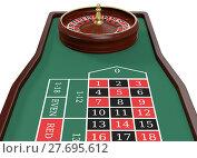Купить «gambling, roulette game», фото № 27695612, снято 12 декабря 2018 г. (c) PantherMedia / Фотобанк Лори