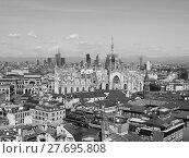 Купить «Duomo di Milano Cathedral in Milan», фото № 27695808, снято 13 декабря 2018 г. (c) PantherMedia / Фотобанк Лори