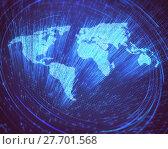 Купить «World Optical Fiber», фото № 27701568, снято 23 февраля 2019 г. (c) PantherMedia / Фотобанк Лори