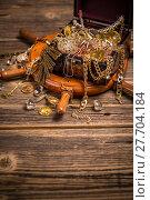 Купить «Still life with treasures», фото № 27704184, снято 19 апреля 2019 г. (c) PantherMedia / Фотобанк Лори